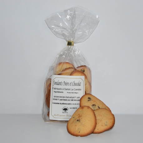 Gâteaux fondants poire-chocolat