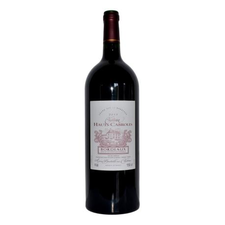 """Bordeaux rouge AOC """"Château Hauts Cabroles"""""""