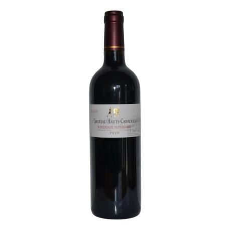 """Bordeaux supérieur rouge AOC """"Château Hauts Cabroles"""""""