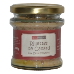 Duck rillettes with 2 peppers
