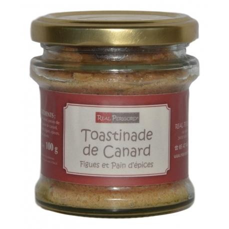«Toastinade» de pato con higos y pain d'épices