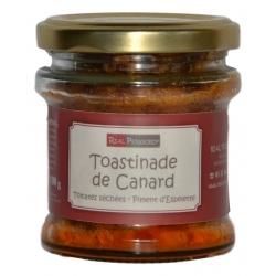 «Toastinade» de pato con tomates y pimiento de Espelette