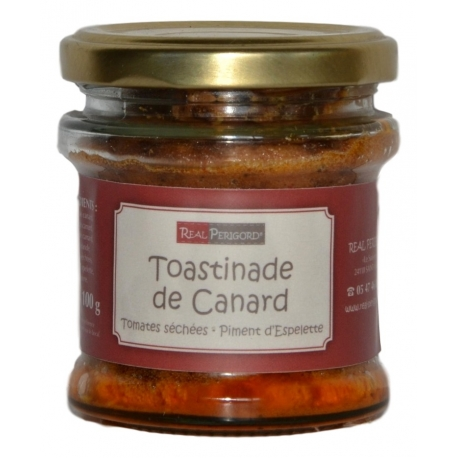 Duck «toastinade» with tomatoes and Espelette chili