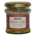 Goose rillettes with shallot and red berries