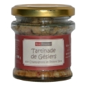 «Tartinade» de mollejas con champiñones y pimienta verde