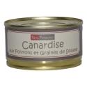 «Canardise» con pimientos y semillas de sésamo