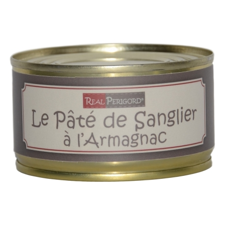 Wild boar pâté with armagnac