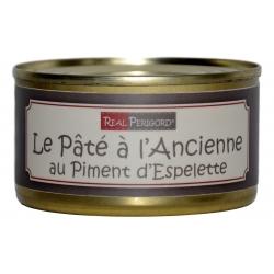 Paté « à l'ancienne» con pimiento de Espelette