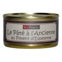 Pâté « à l'ancienne » with espelette chili