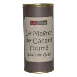 Le Magret de canard fourré au foie de canard