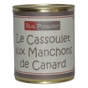 Cassoulet with duck drumsticks confits