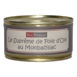 Supreme of goose liver in Montbazillac