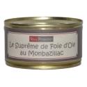 Le Suprême de foie d'oie au Monbazillac