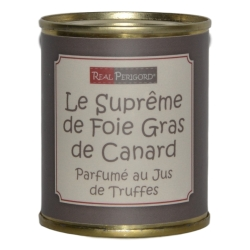 Supreme of duck liver in truffle sauce