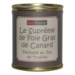 Le Suprême de foie de canard au jus de truffes
