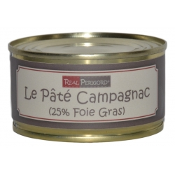 « Campagnac » pâté with duck foie gras