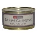 Paté «campagnac» de foie gras de pato