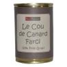 Le Cou de canard farci au foie gras de canard