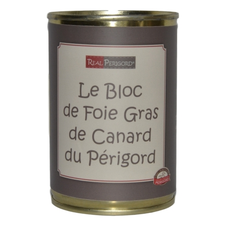 Le Bloc de foie gras de canard du Périgord