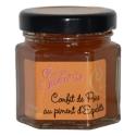 Confit de peras con pimiento de Espelette