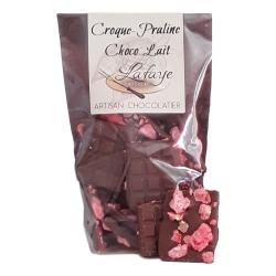 Croques-pralines roses chocolat lait