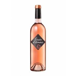 """Vin de France doux rosé, """"Grain d'Amour"""""""