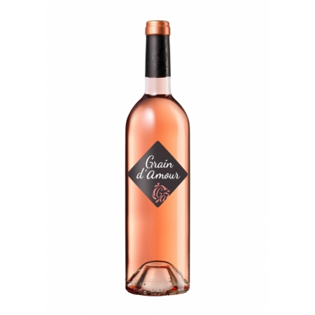 "Vin de France doux rosé, ""Grain d'Amour"""